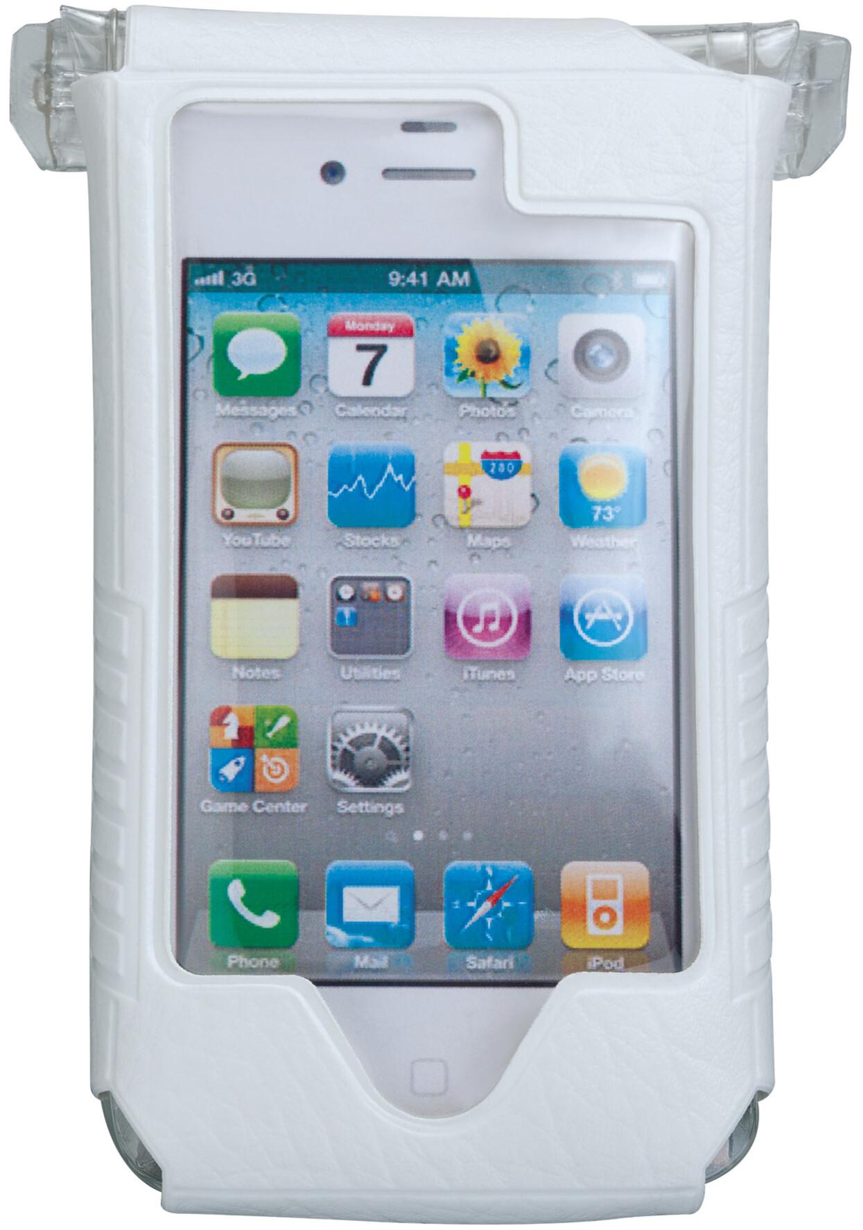 topeak smartphone drybag for iphone 4 4s wei g nstig. Black Bedroom Furniture Sets. Home Design Ideas